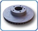 EBC BSD - тормозные диски с насечками из High Carbon аллюминия